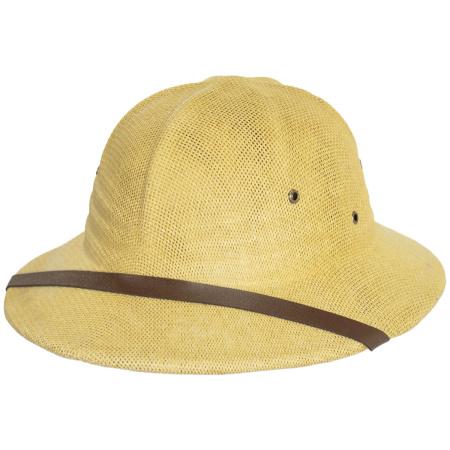 B2B Straw Pith Helmets -Tan