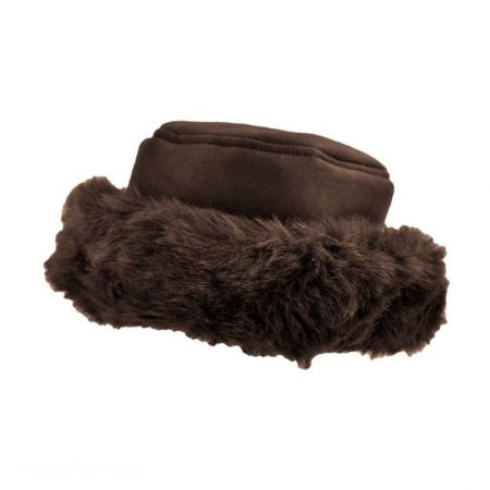 B2B sur la tete Alpine Princess Hat (Chocolate)