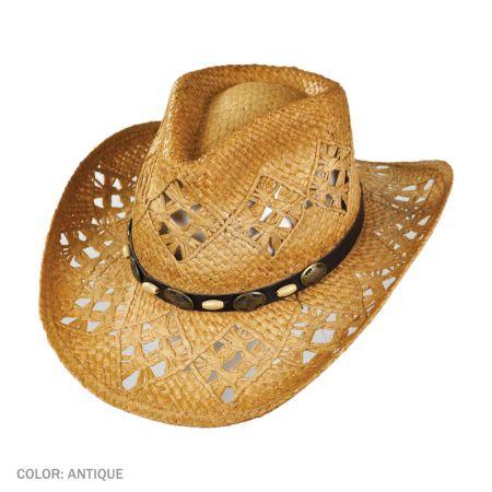 B2B sur la tete Annie Oakley Cowboy Hat (Antique)
