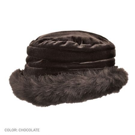 B2B sur la tete Quebec Cuff Hat (Chocolate)