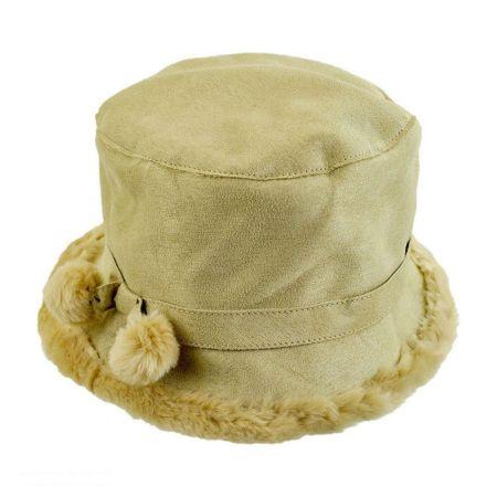 B2B sur la tete Siberian Bucket Hat (Camel)