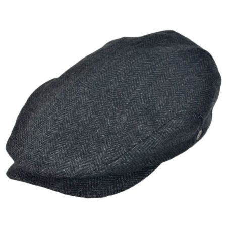 Jaxon Hats Square Bill Herringbone Wool Ivy Cap