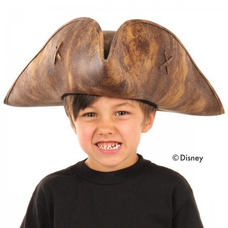 Disney Pirates of the Caribbean Kids' Jack Sparrow Tricorn Hat