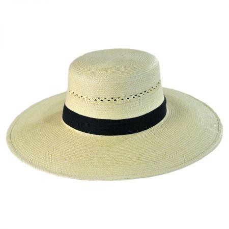 Espanola Guatemalan Palm Leaf Straw Hat
