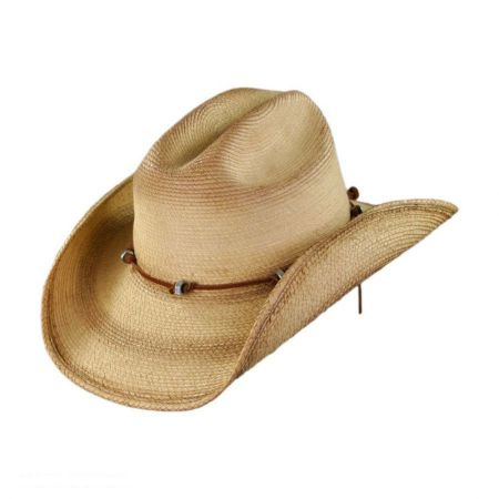 SunBody Hats Nuts and Bolts Guatemalan Palm Leaf Straw Hat