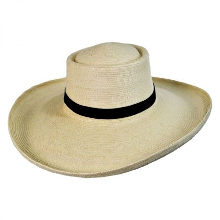 SunBody Hats Sam Houston Planter Guatemalan Palm Leaf Straw Hat
