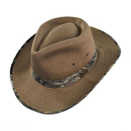 Mossy Oak Break Up Camo Cotton Outback Hat