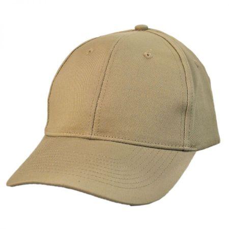 KC Caps - Pro Cotton Twill Snapback Baseball Cap