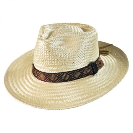 Riverz by San Francisco Hat Company Delta TechStraw Fedora Hat