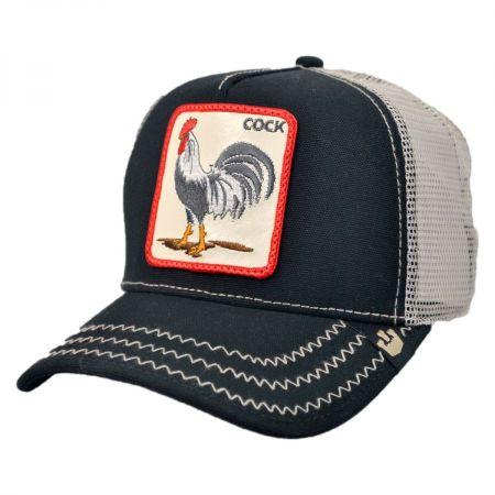 Goorin Bros Cock Trucker Snapback Baseball Cap