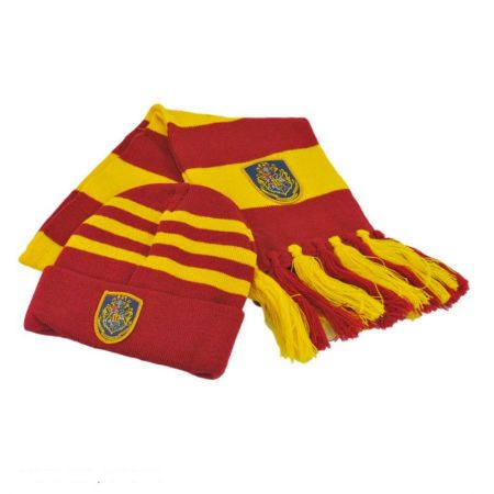 Harry Potter Gryffindor Beanie Hat and Scarf Set