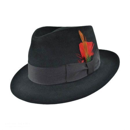 Jaxon Hats Detroit Fur Felt Fedora Hat