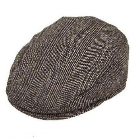 Mix Herringbone Wool Blend Ivy Cap