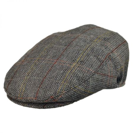Jaxon Hats Tweed Wool Blend Ivy Cap