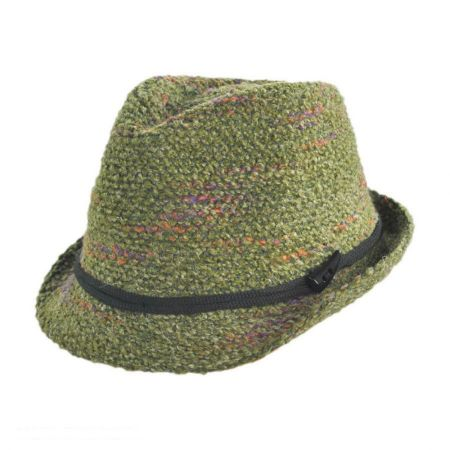 Jeanne Simmons Yarn Fedora Hat