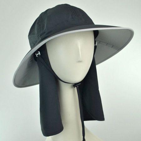 UV Protection Folding Sun Hat w/ Back Flap