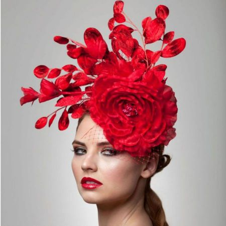 Arturo Rios Collection Kate Cocktail Pillbox Hat