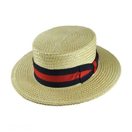 Signes Coburg Straw Skimmer Hat