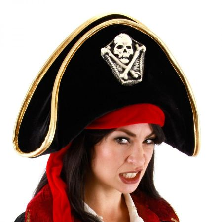 Elope Pirate Bicorn Hat