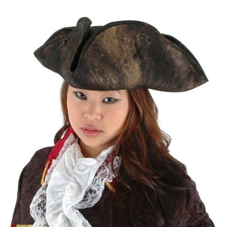 Elope Scallywag Tricorn Hat