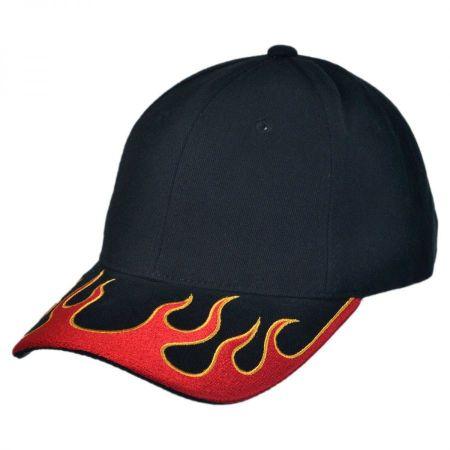 Magic Apparel Group Fire Brim Baseball Cap