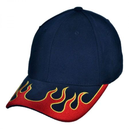 Magic Apparel Group Fire Brim Baseball Cap