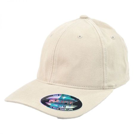 Garment Washed Twill LoPro FlexFit Fitted Baseball Cap alternate view 6