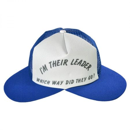 Jacobson I'm Their Leader Dual Bill Snapback Baseball Cap