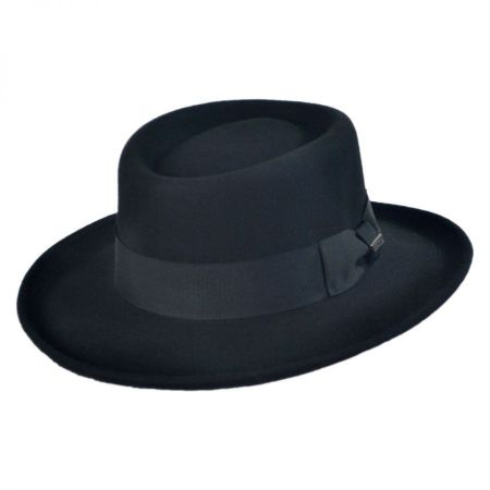 Jaxon Hats Crushable Wool Felt Gambler Hat