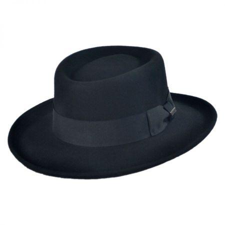 Jaxon Hats Crushable Wool Felt Gambler Hat