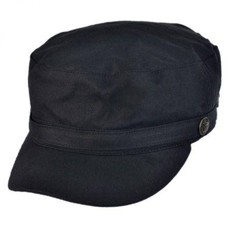 Herringbone Cotton Cadet Cap alternate view 1