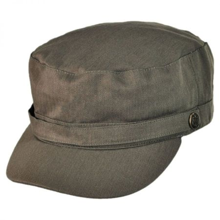 Herringbone Cotton Cadet Cap alternate view 14