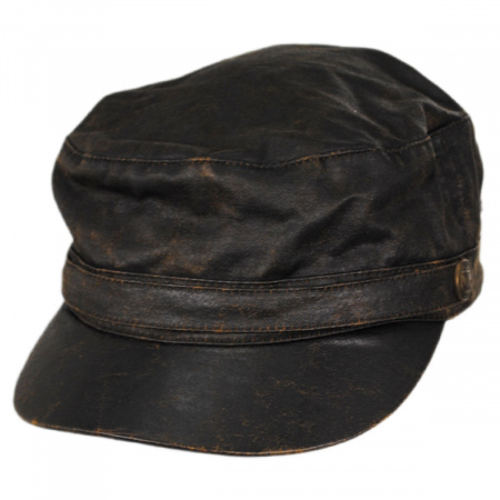 Weathered Cotton Army Cadet Cap