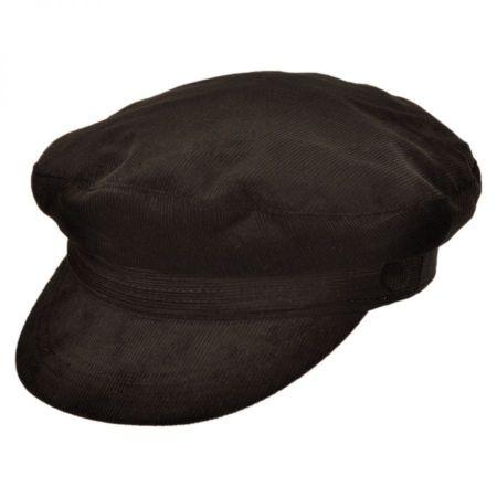 Jaxon Hats Corduroy Fiddler's Cap