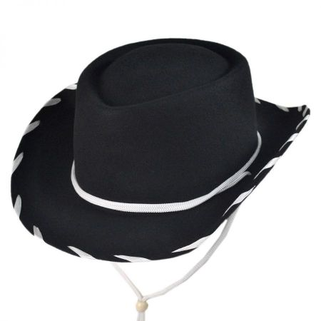 Kids' Classic Wool Felt Cowboy Hat alternate view 1