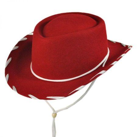 Jaxon Hats Kids' Classic Wool Felt Cowboy Hat