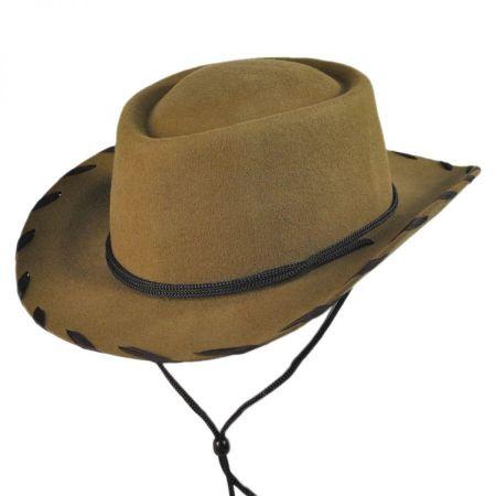 Kids' Classic Wool Felt Cowboy Hat