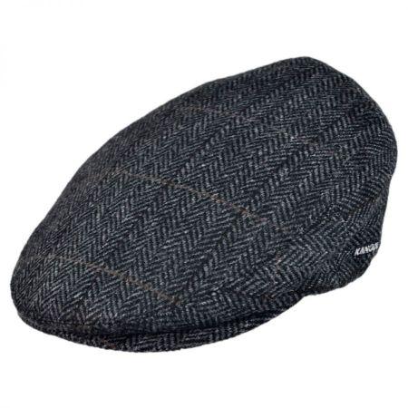 Pietro Herringbone Peebles Wool Ivy Cap