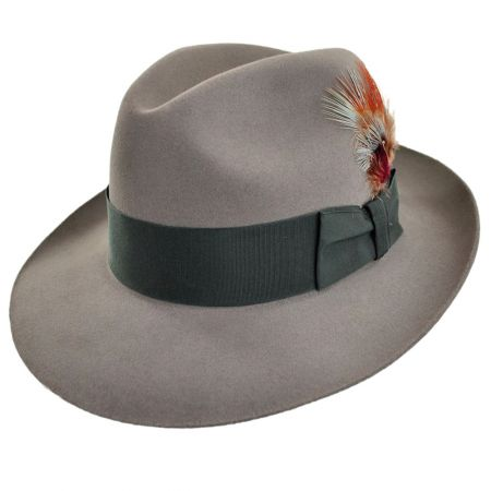 Temple Fur Felt Fedora Hat alternate view 12
