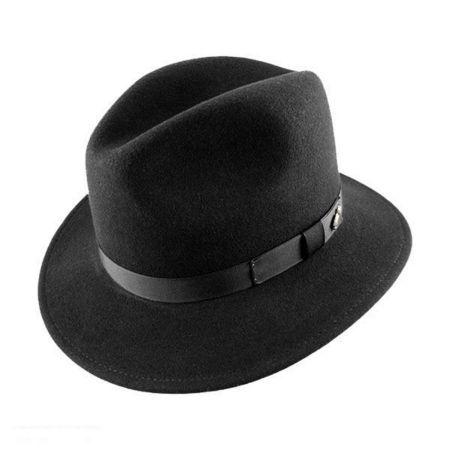 Bailey Fairbanks Crushable Wool Felt Fedora Hat