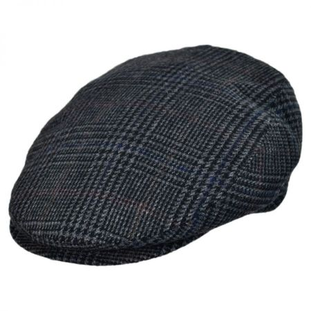 Jaxon Hats - Made in Italy Savio Checkered Flat Cap