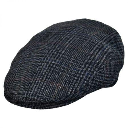 Savio Checkered Flat Cap