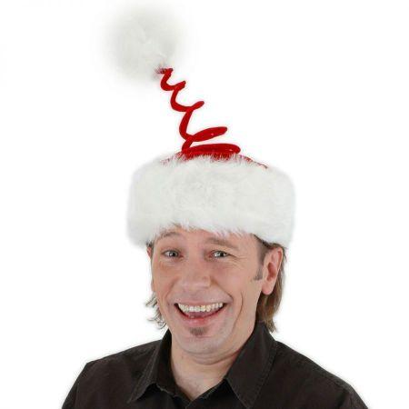 Elope Springy Santa Hat