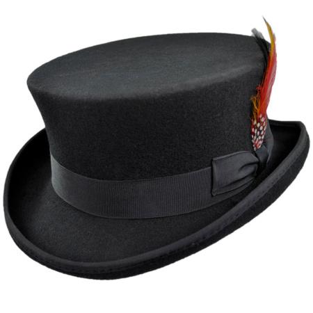 B2B Jaxon Deadman Wool Felt Top Hat