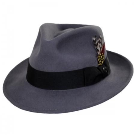 C-Crown Crushable Wool Felt Fedora Hat alternate view 75