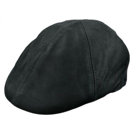 Jaxon Hats - Made in Italy Davido Pub Nappa Leather Ivy Cap
