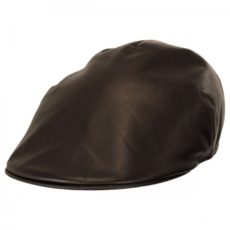 Jaxon Hats - Made in Italy Lambskin Luxe Ascot Cap