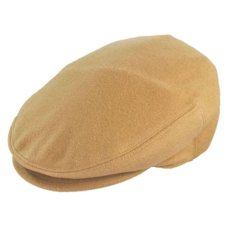 Jaxon Hats - Made in Italy Piedmonte Cashmere and Wool Ivy Cap