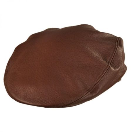 Jaxon Hats Nappa Leather Ivy cap