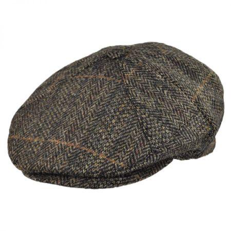 Jaxon Hats Herringbone 7-Piece Wool Ivy Cap